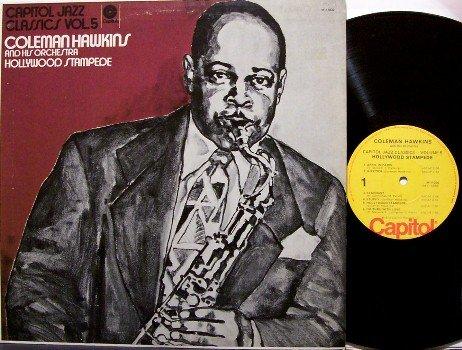Hawkins, Coleman - Hollywood Stampede - Vinyl LP Record - Jazz