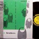 Getz, Stan & Zoot Sims - The Brothers - Vinyl LP Record - Prestige Jazz