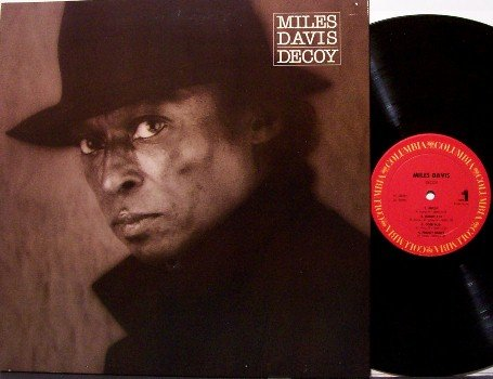 Davis, Miles - Decoy - Vinyl LP Record - Promo - Jazz