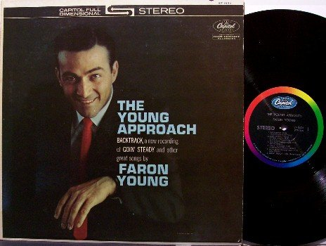 Young, Faron - The Young Approach - Vinyl LP Record - Country