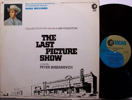 Williams, Hank - The Last Picture Show - Vinyl LP Record - Country Soundtrack