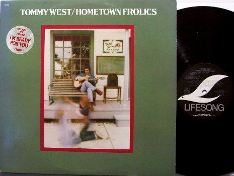 West, Tommy - Hometown Frolics - Vinyl LP Record - Promo - Country