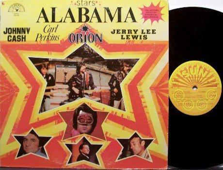 Various Artists - Stars - Johnny Cash, Alabama, Carl Perkins etc - Vinyl LP Record - Sun Country