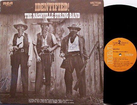 Nashville String Band - Identified - Vinyl LP Record - Chet Atkins - Cowboy Country