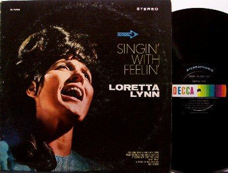 Lynn, Loretta - Singin' With Feelin' - Vinyl LP Record - Decca - Country