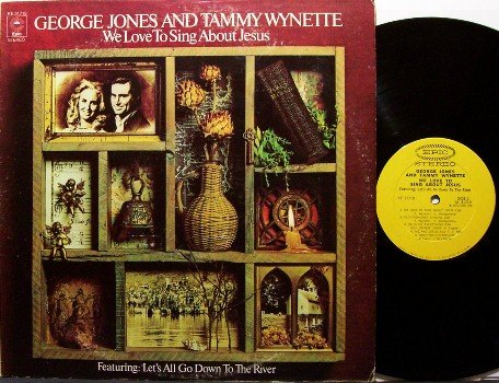 Jones, George & Tammy Wynette - We Love To Sing About Jesus - Vinyl LP Record - Country Gospel