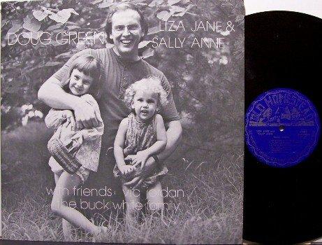 Green, Doug - Liza Jane & Sally Anne - Vinyl LP Record - Buck White / Vic Jordan - Bluegrass