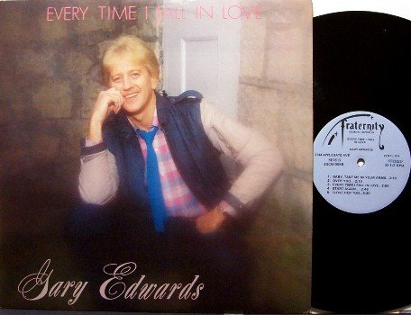 Edwards, Gary - Every Time I Fall In Love - Vinyl LP Record - Country