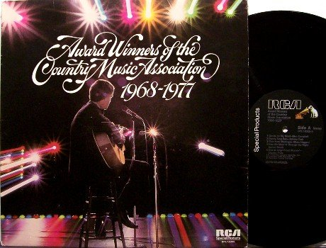 Cash, Johnny and others - Award Winners Of The CMA Association - Vinyl LP Record - Country