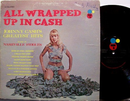Cash, Johnny songs played by Nashville Fiddles - All Wrapped Up - Vinyl LP Record - Country