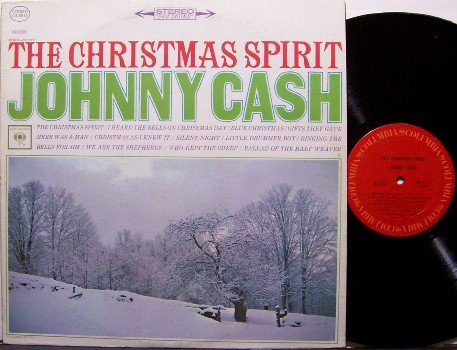 Cash, Johnny - The Christmas Spirit - Vinyl LP Record - Country