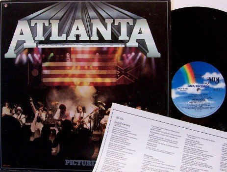 Atlanta - Pictures - Vinyl LP Record + Insert - Country