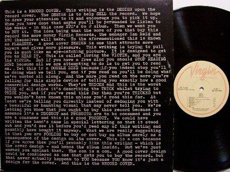 XTC - Go 2 - Vinyl LP Record + Poster - Rock