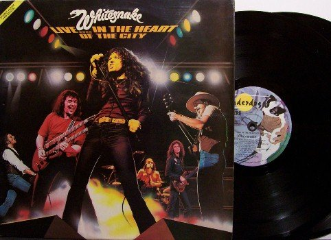 Whitesnake - Live In The Heart Of The City - Vinyl 2 LP Record Set - French Pressing - Rock