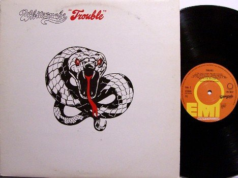Whitesnake - Trouble - Vinyl LP Record - Great Britain Pressing - Rock
