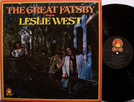 West, Leslie - The Great Fatsby - Vinyl LP Record - Mountain - Mick Jagger - Rock