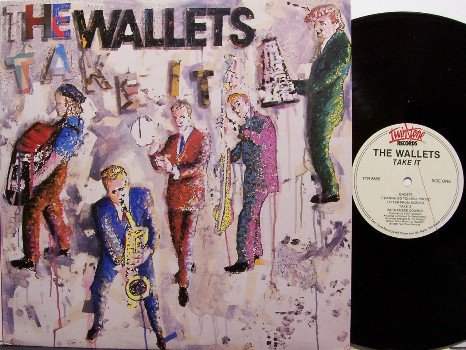 Wallets, The - Take It - Vinyl LP Record - Twin Tone Label - Rockabilly Rock