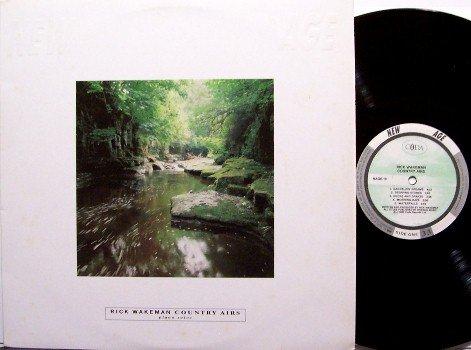 Wakeman, Rick - Country Airs - Vinyl LP Record - Yes Keyboard - New Age / Rock