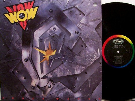 Vow Wow - Shock Waves - Vinyl LP Record - Japan Heavy Metal Rock