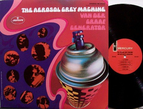 Van Der Graaf Generator - The Aerosol Grey Machine - Vinyl LP Record - Vander - Gray - Psych Rock