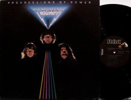 Triumph - Progressions Of Power - Vinyl LP Record - Rock