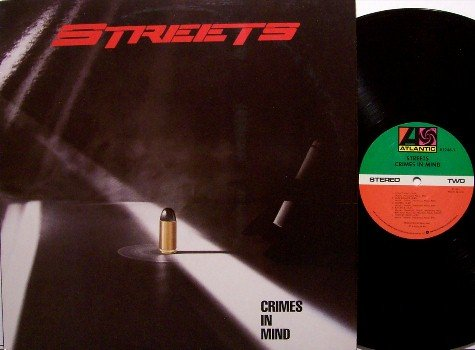 Streets, The - Crimes In Mind - Vinyl LP Record - Steve Walsh / Kansas - Rock