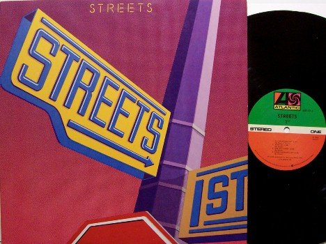 Streets, The - 1st Self Titled - Vinyl LP Record - Steve Walsh / Kansas - Rock