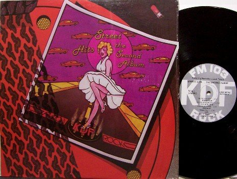 Street Hits The Second Album - WKDF 80's Nashville Bands - Vinyl LP Record - Rock