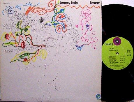 Steig, Jeremy - Energy - Vinyl LP Record - Jan Hammer - Psych Rock Prog Soul