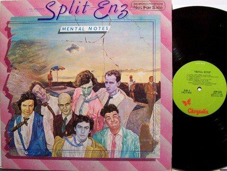 Split Enz - Mental Notes - Vinyl LP Record - Promo - Rock