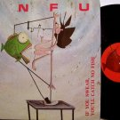 SNFU - If You Swear You'll Catch No Fish - Vinyl LP Record + Insert - L.A. Punk Rock