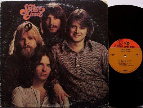 Savage Grace - Self Titled - Vinyl LP Record - Rock
