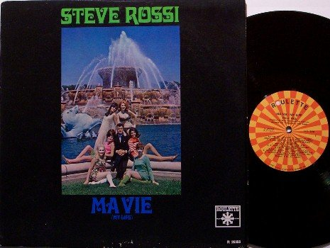 Rossi, Steve - Ma Vie / My Life - Vinyl LP Record - Roulette Mono - Pop Rock