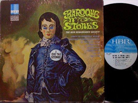 Rolling Stones / The New Renaissance Society - Baroque N' Stones - Vinyl LP Record - 1966 Mono