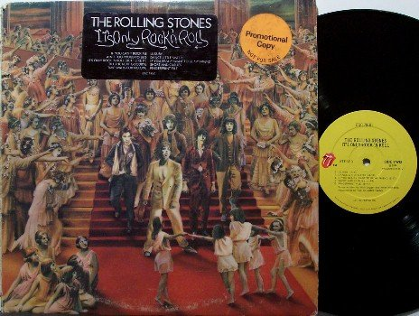 Rolling Stones, The - It's Only Rock 'n Roll - Promo - Vinyl LP Record - Rock