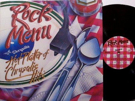 Rock Menu - Hot Platter Of Chrysalis Hits - Vinyl LP Record - Rock