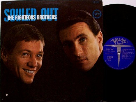 Righteous Brothers, The - Souled Out - Vinyl LP Record - Verve Stereo - Rock