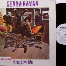 Ravan, Genya - They Love Me - White Label Promo - Vinyl LP Record - Rock