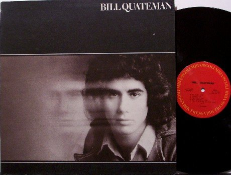Quateman, Bill - Self Titled - Vinyl LP Record - Rock