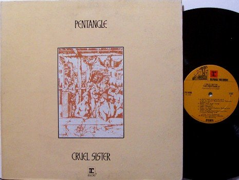 Pentangle - Cruel Sister - Vinyl LP Record - 1970 - Rock