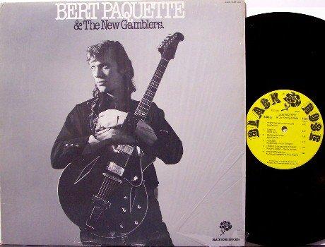 Paquette, Bert & The New Gamblers - Vinyl LP Record - Boston Country Rockabilly Blues Rock