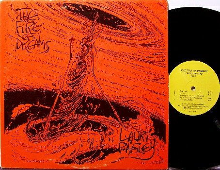 Paisley, Lauri - The Fire Of Dreams - Vinyl LP Record - Private Experimental Synth Rock