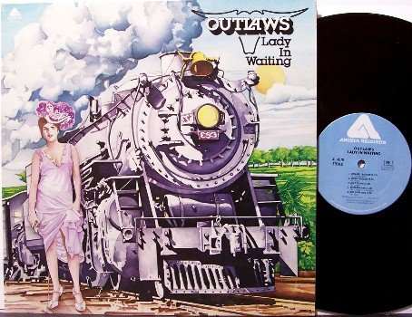 Outlaws, The - Lady In Waiting - Vinyl LP Record - Southern Rock
