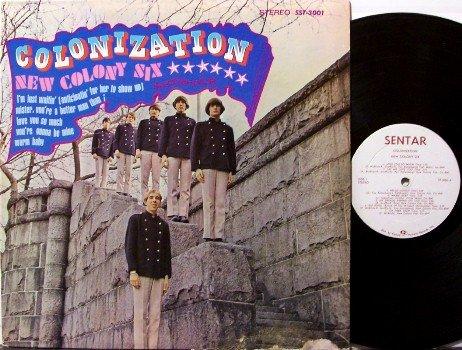 New Colony Six - Colonization - Vinyl LP Record - Sentar Label - Rock