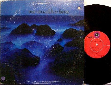 Marvin, Welch & Farrar - Self Titled - Vinyl LP Record - The Shadows / Cliff Richard - Rock