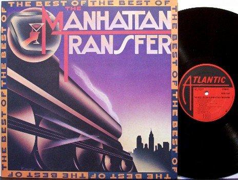 Manhattan Transfer, The - Best Of - Vinyl LP Record - Pop Rock