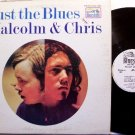 Malcolm & Chris - Just The Blues - White Label Promo - Vinyl LP Record - Flying Dutchman - Blues