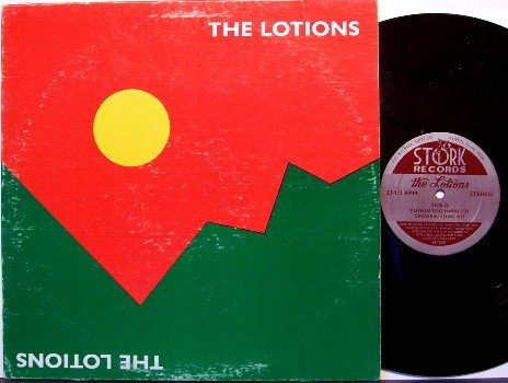 Lotions, The - Self Titled - Vinyl Mini LP Record - 1981 Austin Texas Rock