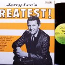 Lewis, Jerry Lee - Greatest - Vinyl LP Record - Italian Pressing - Rock