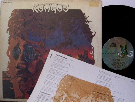 Kongos - Self Titled - Vinyl LP Record + Insert - Folk Psych Rock